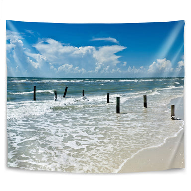 Florida Gulf Of Mexico by Melanie Viola Tapestry - Wall Tapestry - Americanflat