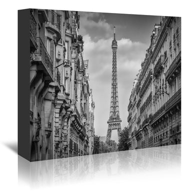 Parisian Flair By Melanie Viola Wrapped Canvas - Wrapped Canvas - Americanflat