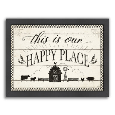 Country Thoughts I by Wild Apple Framed Print - Wall Art - Americanflat