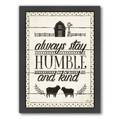 Country Thoughts Iv by Wild Apple Framed Print - Wall Art - Americanflat