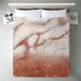 Luxury Metal Copper And Luxury Marble by Grab My Art Duvet Cover - Duvet Covers - Americanflat