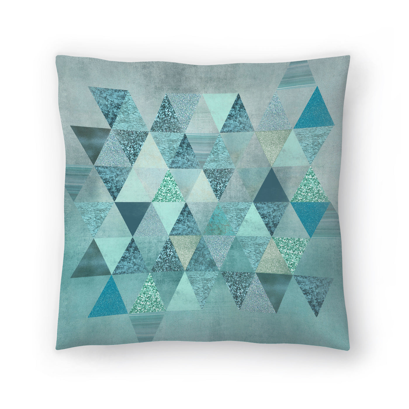 Precious Triangles by Lebens Art Decorative Pillow - Decorative Pillow - Americanflat