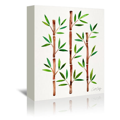 Bamboo by Cat Coquillette Wrapped Canvas - Wrapped Canvas - Americanflat