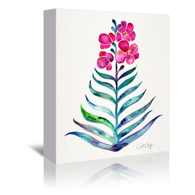 Blooming Orchid by Cat Coquillette Wrapped Canvas - Wrapped Canvas - Americanflat