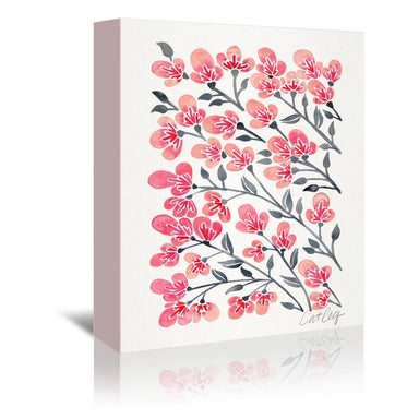Cherry Blossoms by Cat Coquillette Wrapped Canvas - Wrapped Canvas - Americanflat