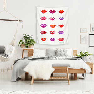 Kiss Collection by Cat Coquillette Tapestry