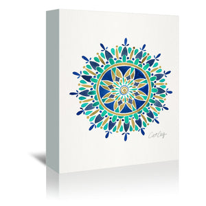 Mandala by Cat Coquillette Wrapped Canvas