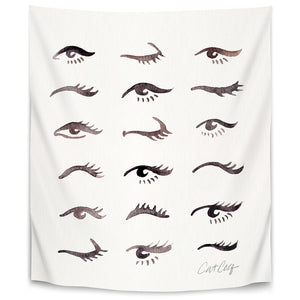 Mascara Envy by Cat Coquillette Tapestry
