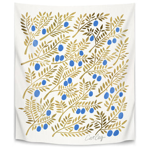 Olive Branches by Cat Coquillette Tapestry