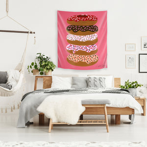 Stacked Donuts by Cat Coquillette Tapestry