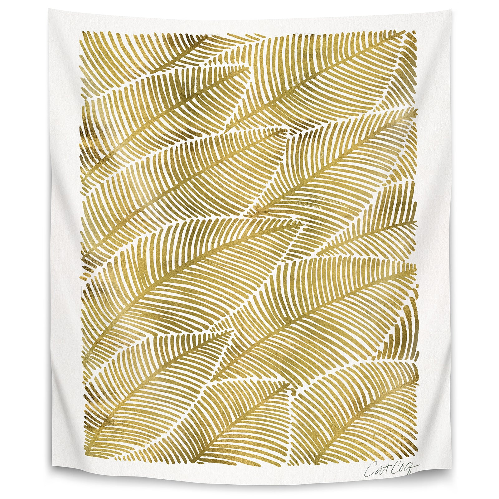 Tropical Gold by Cat Coquillette Tapestry – Americanflat