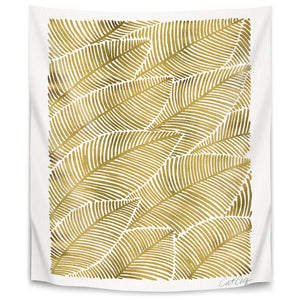Tropical Gold by Cat Coquillette Tapestry
