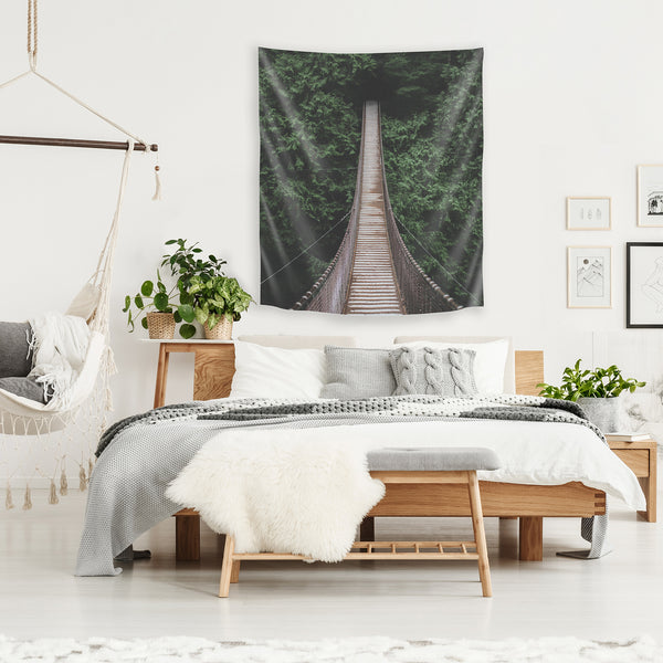 Bridge 3 by Luke Gram Tapestry