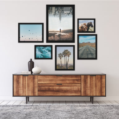 City and Country Wanderlust Photography Framed Art Set - Art Set - Americanflat