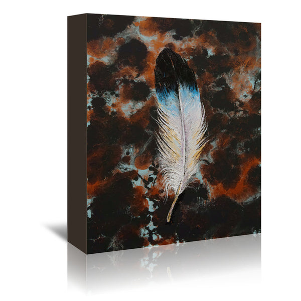 Feather by Michael Creese Wrapped Canvas