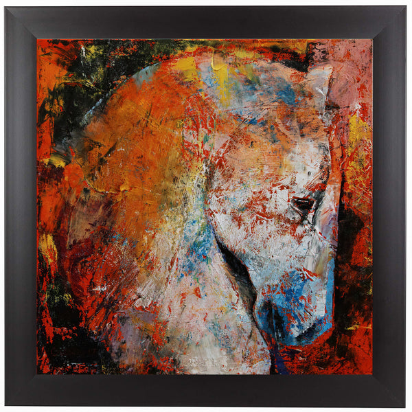 War Horse by Michael Creese Framed Print