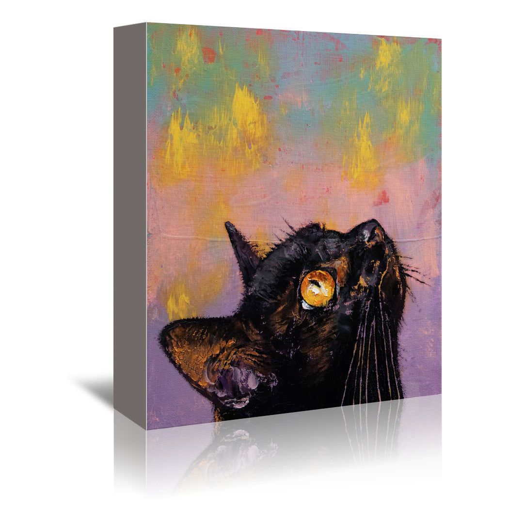 Fixed Gaze By Michael Creese Wrapped Canvas Americanflat