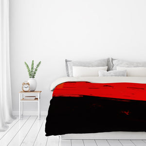 Long Time To Tomorrow by Kasi Minami Duvet Cover