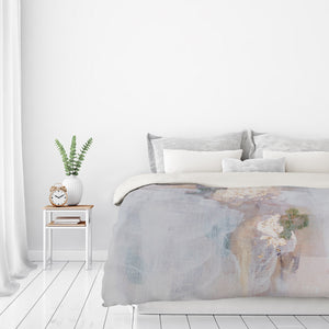 Focus Mini by Christine Olmstead Duvet Cover