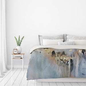 Over Black3 by Christine Olmstead Duvet Cover