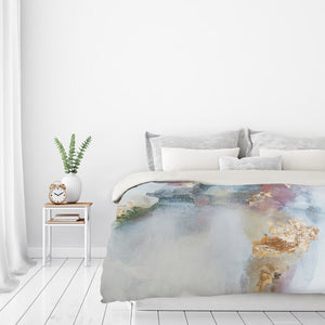 Rose1 by Christine Olmstead Duvet Cover