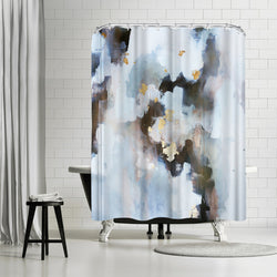 I Can not Breathe by Christine Olmstead Shower Curtain