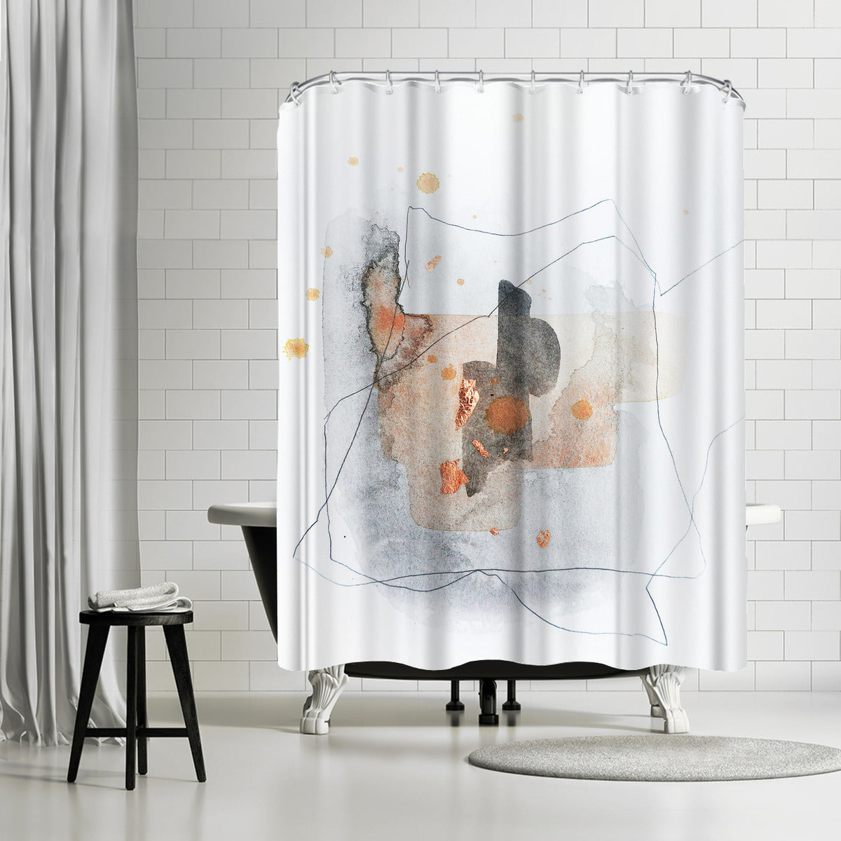 Piece Of Cheer 1 by Christine Olmstead Shower Curtain - Shower Curtain - Americanflat