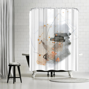 Piece Of Cheer 2 by Christine Olmstead Shower Curtain