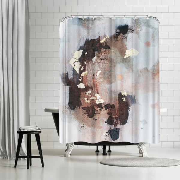 Uncertain Future by Christine Olmstead Shower Curtain