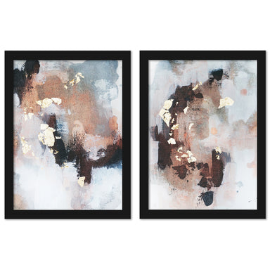 Uncertain Future by Christine Olmstead - 2 Piece Framed Print Set - Americanflat