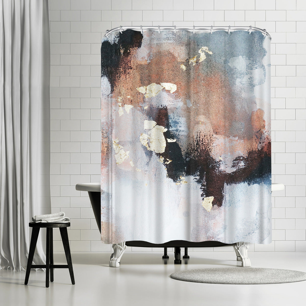 Uncertain Future2 by Christine Olmstead Shower Curtain - Shower Curtain - Americanflat