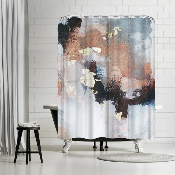 Uncertain Future2 by Christine Olmstead Shower Curtain