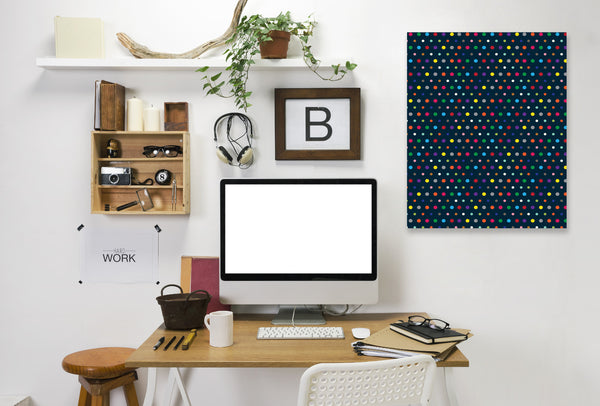 Dots by Joe Van Wetering Wrapped Canvas