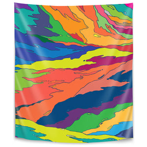 Liquid Camo by Joe Van Wetering Tapestry