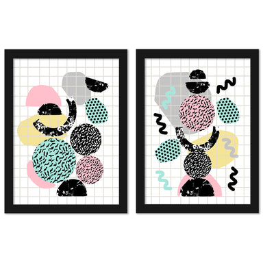Amp by Wacka Designs - 2 Piece Framed Print Set - Americanflat