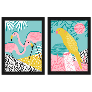 Bro by Wacka Designs - 2 Piece Framed Print Set - Americanflat