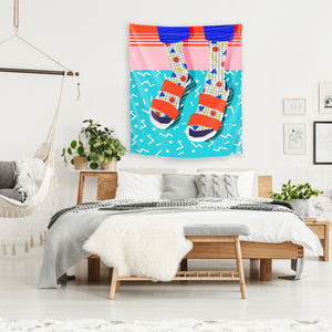No Doi by Wacka Designs Tapestry