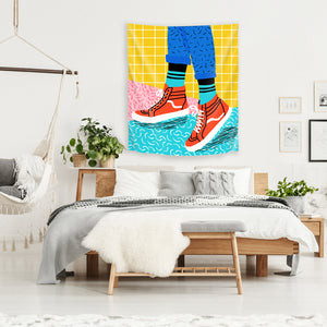 Toe Drag by Wacka Designs Tapestry