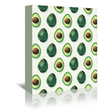 Avocado Pattern by Tracie Andrews Wrapped Canvas - Wrapped Canvas - Americanflat