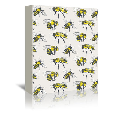 Bees by Tracie Andrews Wrapped Canvas - Wrapped Canvas - Americanflat