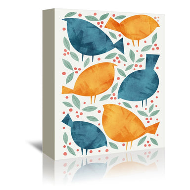 Birds by Tracie Andrews Wrapped Canvas - Wrapped Canvas - Americanflat