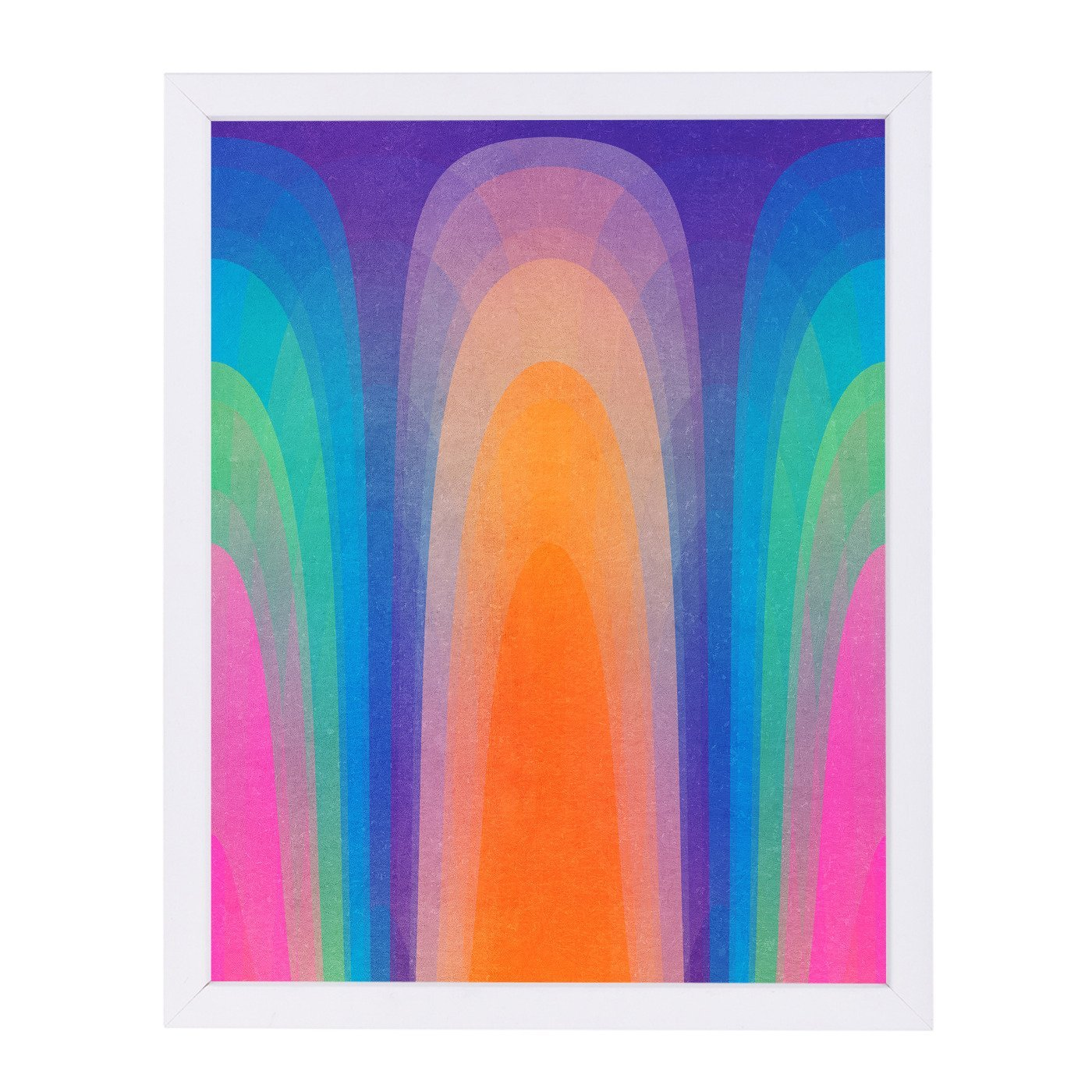 Chroma01 by Tracie Andrews Framed Print - Americanflat