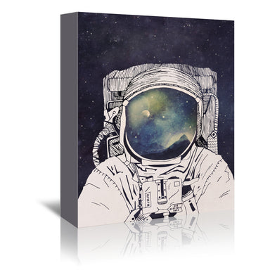 Dreaming Of Space by Tracie Andrews Wrapped Canvas - Wrapped Canvas - Americanflat
