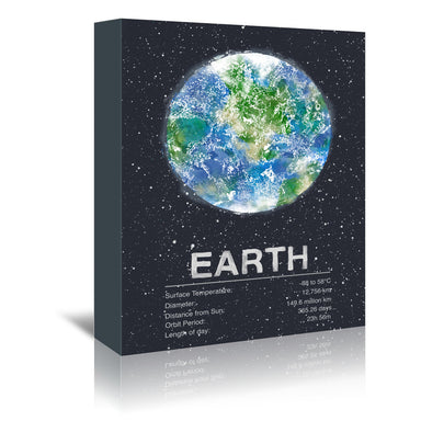 Earth by Tracie Andrews Wrapped Canvas - Wrapped Canvas - Americanflat