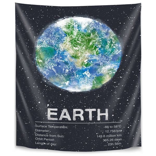 Earth by Tracie Andrews Tapestry