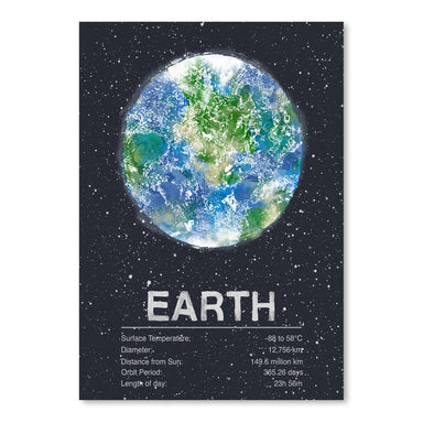 Earth by Tracie Andrews Art Print - Art Print - Americanflat