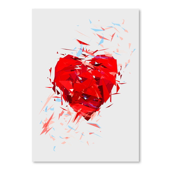 Fragile Heart by Tracie Andrews Art Print