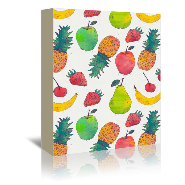 Fruity by Tracie Andrews Wrapped Canvas