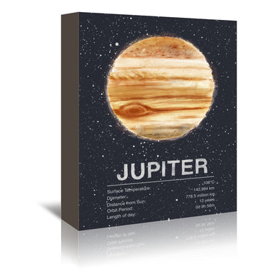 Jupiter by Tracie Andrews Wrapped Canvas - Wrapped Canvas - Americanflat