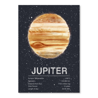 Jupiter by Tracie Andrews Art Print - Art Print - Americanflat